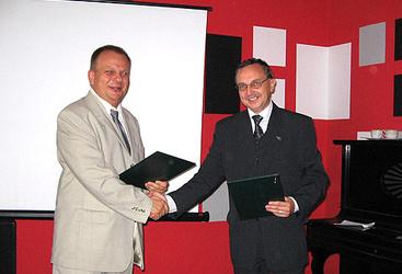 Podpisanie umowy, Radlin, 02.06.2007r.