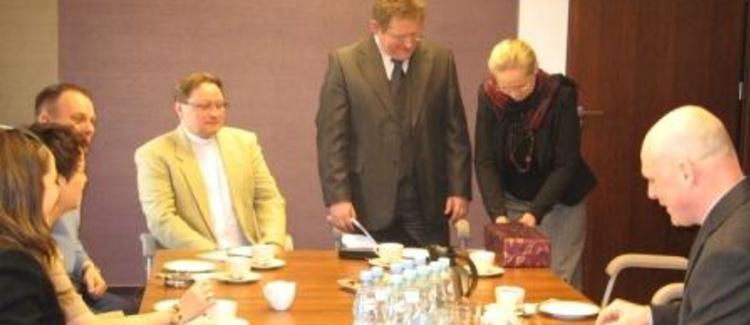 Warszawskie spotkanie z Biskupem Kościoła