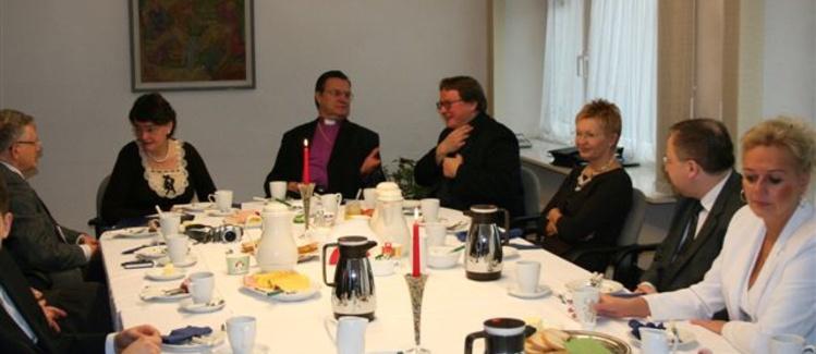 Warszawskie spotkanie z Biskupem Kościoła.
