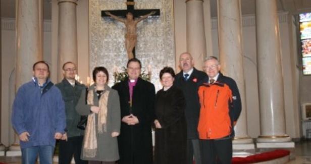 Noworoczne spotkanie z Biskupem Kościoła